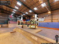 360 degree panorama of Ramp City