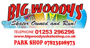 Big Woodys Skateboard Shop Blackpool